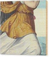 An Adoring Angel   Wood Print