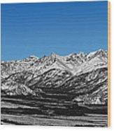 Anaktuvuk Pass Alaska Wood Print