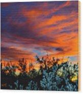 Arizona Sky Wood Print