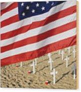 Arlington West Santa Barbara California Wood Print