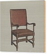 Armchair Wood Print