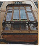 Artistic Architecture In Palma Majorca Spain Wood Print