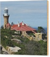 Australia - Path To Barrenjoey Lighthouse Wood Print