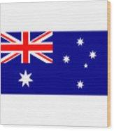 Australia Flag Wood Print