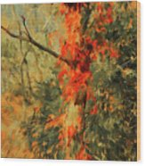 Autumn Landscape #4 Wood Print