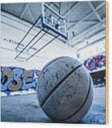 Ball Is Life Wood Print