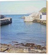 Ballintoy Harbour Wood Print