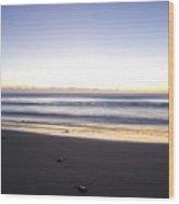 Ballynaclash Beach At Dawn Wood Print