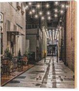 Bank Street Downtown Bristol Wood Print