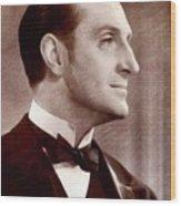 Basil Rathbone, Actor Wood Print
