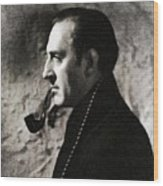 Basil Rathbone As Sherlock Holmes Wood Print