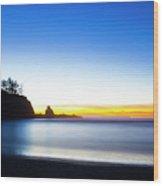 Bastendorff Beach Oliver Wood Print