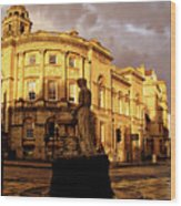 Bath England United Kingdom Uk Wood Print