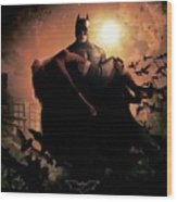 Batman Begins 2005 Wood Print
