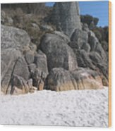 Bay Of Fires. Tasmania Wood Print