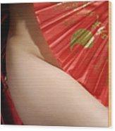 Beautiful Naked Woman Wood Print