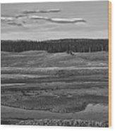 Beautiful Yellowstone Wood Print