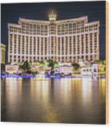 Bellagio Hotel On Nov, 2017 In Las Vegas, Nevada,usa. Bellagio I Wood Print