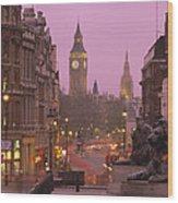 Big Ben London England Wood Print