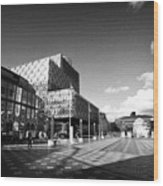 Birmingham City Library In Centenary Square Uk Wood Print
