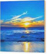 Blue Heaven #3 Wood Print