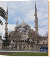 Blue Mosque-- Sultan Ahmed Mosque Wood Print
