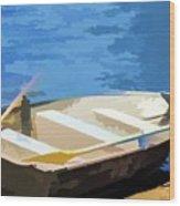 Boat 1 Wood Print