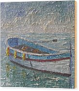 Boat Of Provence  Wood Print