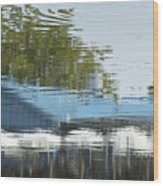 Boathouse Restaurant Wood Print