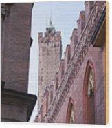 Bologna Tower Wood Print