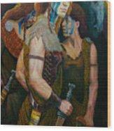 Boudica Wood Print