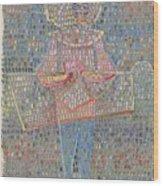 Boy In Fancy Dress Wood Print