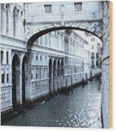 Bridge Of Sighs, Venice, Italy Wood Print