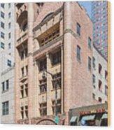 Brooklyn Fire Department Hq Wood Print