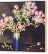 bs-flo- Joseph H Sharp- Apache Plume Joseph Henry Sharp Wood Print