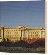 Buckingham Palace. Wood Print