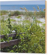 Cape Canaveral Florida Wood Print