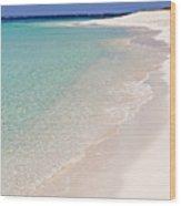 Caribbean Beach. Wood Print
