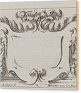 Cartouche Wood Print