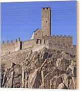 Castelgrande - Bellinzona Wood Print
