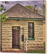 2 Cell Jailhouse Wood Print