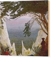 Chalk Cliffs On Rugen  Wood Print