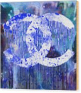 Chanel Art Print Wood Print