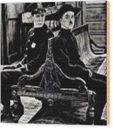 Charlie Chaplin Collection Wood Print