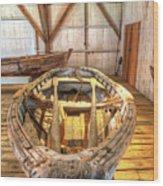 Chesapeake Bay Workboat Wood Print