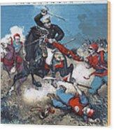 China: Boxer Rebellion Wood Print