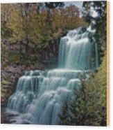 Chittanengo Falls Wood Print