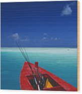 Christmas Island, Bone Fi Wood Print