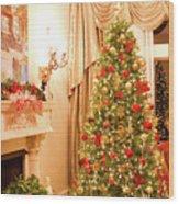 Christmas Tree Wood Print
