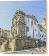 Church Of Clerigos Porto Wood Print